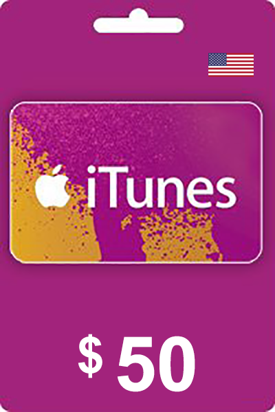 The cheapest iTunes Gift Card 50 USD USA in United Kingdom