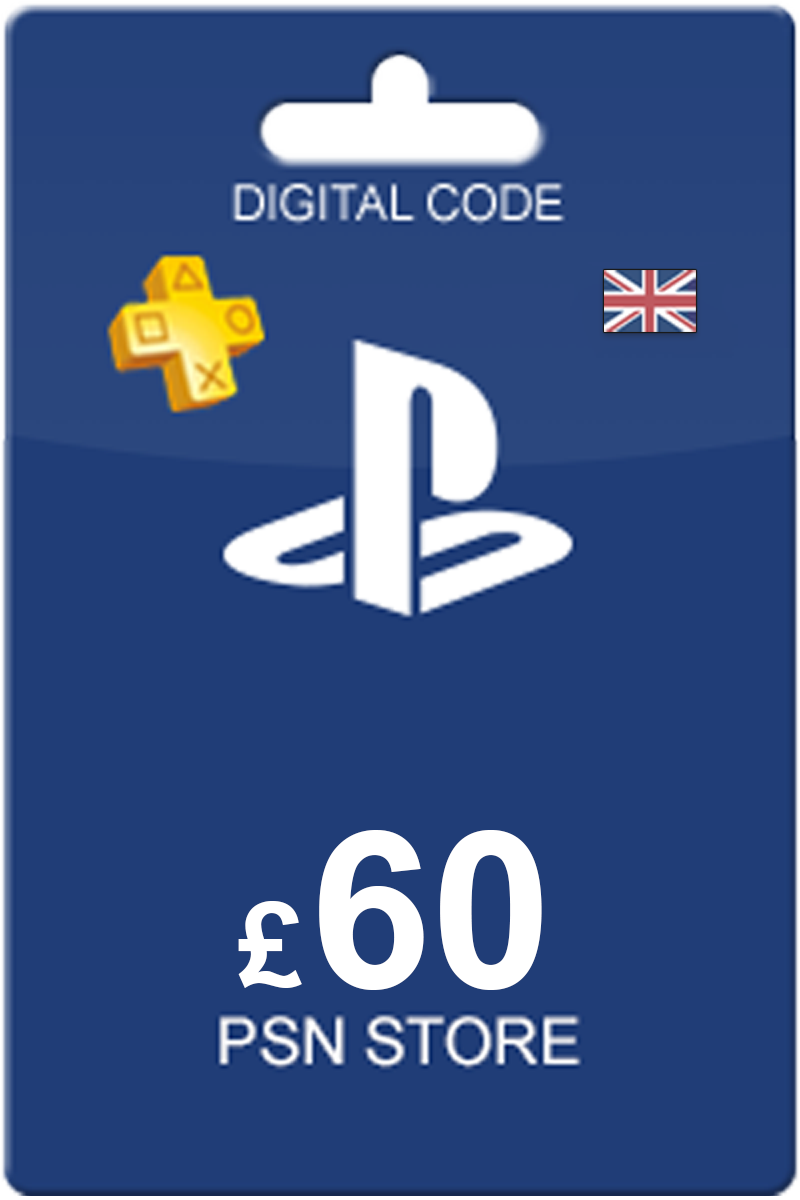 The cheapest Playstation Network Card 60 GBP in United Kingdom