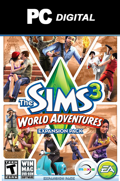 the cheapest the sims 3 world adventures dlc for pc in. Black Bedroom Furniture Sets. Home Design Ideas