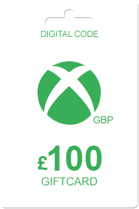 The cheapest Xbox Gift Card 100 GBP in United Kingdom