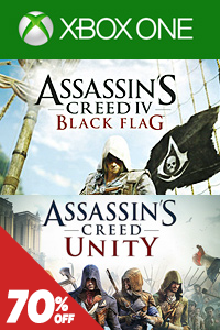 Assassins Creed: Unity + Black Flag Xbox One