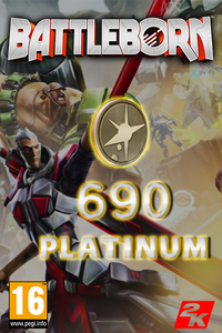 Battleborn - 690 Platinum Currency