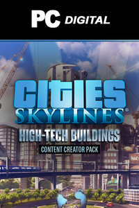 Cities: Skylines - Content Creator Pack: High-Tech Buildings DLC PC
