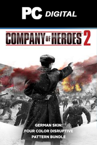 COH 2 - German Skin: Four Color Disruptive Pattern Bundle DLC PC