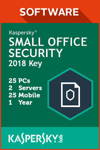 Kaspersky Small Office Security 25 PCs / 2 Servers / 25 Mobile / 1 Year