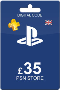 Playstation Network Card 35 GBP