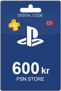 Playstation Network Card 600 NOK