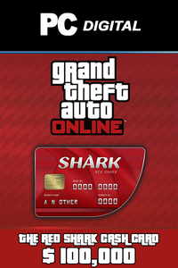 The Red Shark Cash Card 100,000 USD