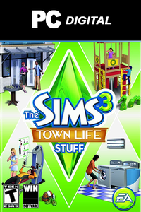 The Sims 3: Town Life Stuff PC DLC