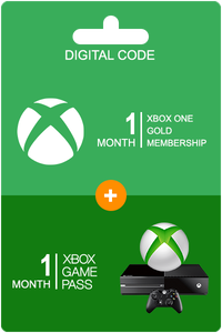 Xbox Game Pass 1 month + Xbox Live Gold 1 month
