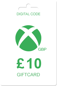 Xbox Gift Card 10 GBP