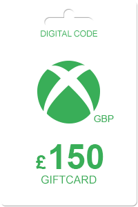 Xbox Gift Card 150 GBP