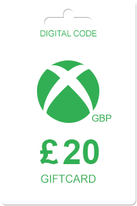 Xbox Gift Card 20 GBP