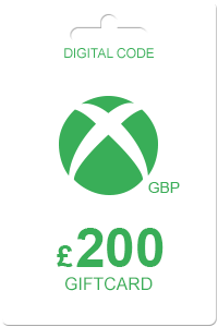 Xbox Gift Card 200 GBP