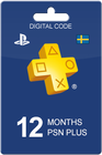 Playstation Plus 365 days SEK