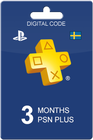 Playstation Plus 90 days SEK