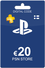 Playstation Network Card 20 Euro FI