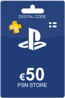 Playstation Network Card 50 Euro FI