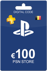 Playstation Network Card 100 Euro BE