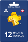 Playstation Plus 365 days DKK