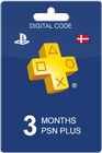 Playstation Plus 90 days DKK