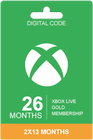 Xbox Live Gold 26 months