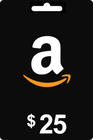 Amazon Gift Card 25 USD