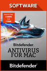 Bitdefender Antivirus for Mac 2017 3 user 1 year