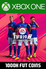 FIFA 19 - 1000k FUT Coins (Comfort Trade) Xbox One
