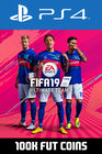 FIFA 19 - 100k FUT Coins (Player Auction) PS4