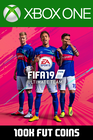 FIFA 19 - 100k FUT Coins (Player Auction) Xbox One