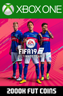 FIFA 19 - 2000k FUT Coins (Comfort Trade) Xbox One