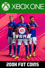 FIFA 19 - 200k FUT Coins (Comfort Trade) Xbox One