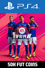 FIFA 19 - 50k FUT Coins (Comfort Trade) PS4
