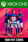 FIFA 19 - 50k FUT Coins (Player Auction) Xbox One