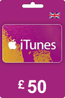 iTunes Gift Card 50 GBP UK