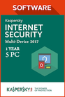 Kaspersky Internet Security Multi Device 2017 1 year 5 PC