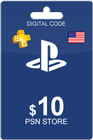 Playstation Network Card 10 USD