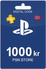 Playstation Network Card 1000 NOK