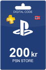 Playstation Network Card 200 NOK