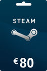 Steam Gift Card 80 EUR