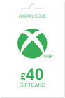 Xbox Gift Card 40 GBP