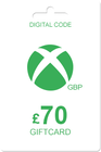 Xbox Gift Card 70 GBP