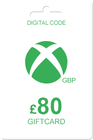 Xbox Gift Card 80 GBP